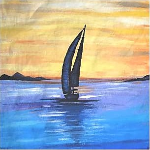 Mens Silk Pocket Square - Sail Away by VIDA VIDA