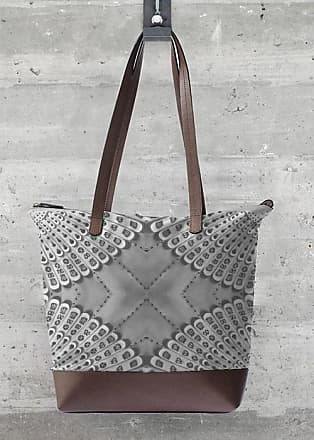 Statement Bag - HOUNDSTOOTH AND FLOWERS by VIDA VIDA
