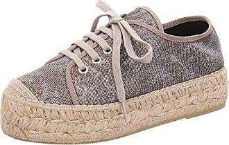 Sandalen aus Leder in Nude/Beige/Weiß/Rosa für Damen, Größe 41 Vidorreta