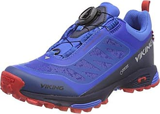Unisex Adults Anaconda Light Boa GTX Low Rise Hiking Boots, Black/Silver, 12 UK Viking