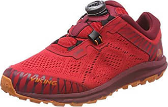 Viking APEX BOA GTX, Unisex-Erwachsene Traillaufschuhe, Orange (Signal red/Black 8602), 47 EU