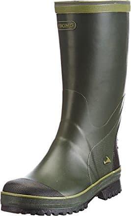 Viking Full Klaff - Botas de goma para hombre, color verde, talla 45 EU (10.5 Erwachsene UK)