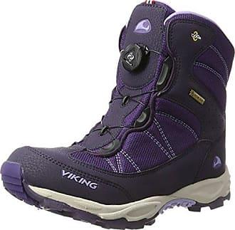 Viking 3-82100 - Zapatillas de Deporte Exterior de Material Sintético Unisex Adultos, Color Morado, Talla 41 EU