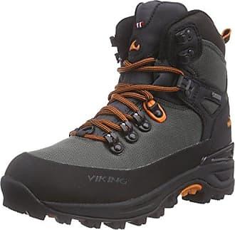 Viking Unisex-Erwachsene Constrictor II Boa GTX Trekking-& Wanderschuhe, Grau (Grey/Lime), 39 EU