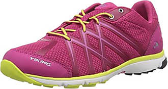 Viking Marka W Dark Pink/Yellow, Schuhe, Sneaker & Sportschuhe, Walking-Schuhe, Pink, Female, 36