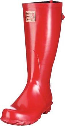 Viking Jewel Stiefellette - Botas de agua, talla: 36, Color Rojo