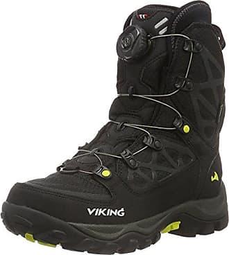 Ascent II - Zapatillas de Trekking y Senderismo de Media Caña Unisex Adulto, Color Negro, Talla 39 Viking