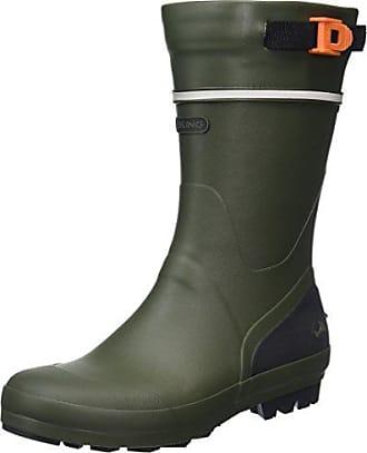 Viking Seilas, Unisex-Erwachsene Halbschaft Gummistiefel, Grün (Olive 37), 45 EU