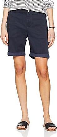 Vila Clothes Vichino Shorts-Noos, Pantalones Cortos para Mujer, Azul (Total Eclipse), 40 (Talla del Fabricante: 38 M)