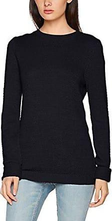 Vila CLOTHES Viplace L/s Knit Turtleneck Top-Fav, Suéter para Mujer, Azul (Total Eclipse Detail:Melange), X-Small