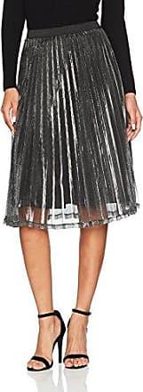 Vila Clothes Visouth Skirt, Falda para Mujer, Verde (Ivy Green Ivy Green), 40 (Talla del Fabricante: Large)