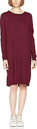 CLOTHES VIRIVA RIB DRESS-NOOS, Robe Femme, Rouge (Aragon), 38 (Taille fabricant: Medium)Vila