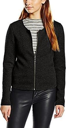 Vila CLOTHES Vinaja New Short Jacket-noos, Chaqueta de traje Mujer, Negro (Black), 34 (Talla del fabricante: X-Small)