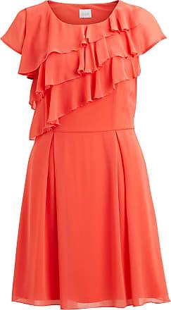 Luftiges Plissee Kleid Dames Bruin Postyr