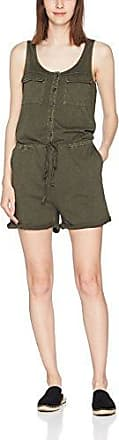 Clothes Vilisi Casual S/l Playsuit, Combis Femme, Vert (Ivy Green Ivy Green), 36 (Taille Fabricant: Small)Vila