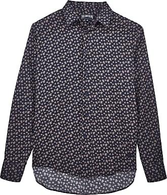 PAP UNISEXE ADULTE - Unisex Linen Jersey Shirt Eels Knitting - SHIRT - CARACAL - Green - 4XL - Vilebrequin Vilebrequin