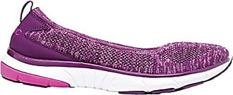 VIONIC Womens Flex Aviva Slip-On Sneaker Purple Size 8.5