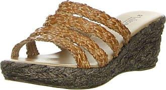 Vista Damen Pantoletten braun, Größe:39;Farbe:Braun
