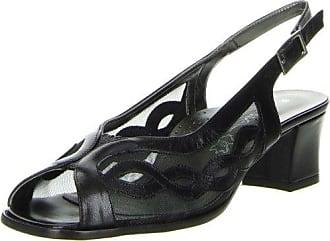 Vista Damen Slingpumps schwarz, Größe:38;Farbe:Schwarz
