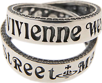 Vivienne Westwood Ring for Women, Silver, Oxidised Silver, 2017, USA 6 1/4 (I 13 - GB N)
