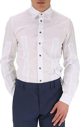 Shirt for Men On Sale, White, Cotton, 2017, L - IT 50 Vivienne Westwood