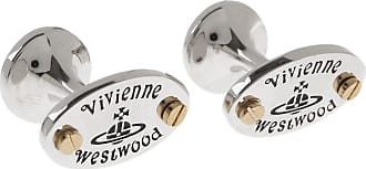 Vivienne Westwood Cufflinks for Men, Silver, Stainless Steel, 2017, One Size