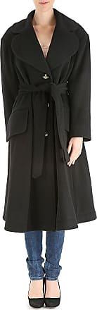 Womens Coat On Sale, Turquoise, Virgin wool, 2017, 8 Vivienne Westwood
