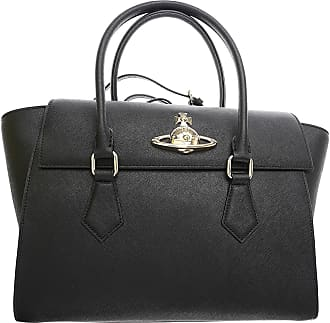 Shoulder Bag for Women, Grey, Patent, 2017, one size Vivienne Westwood
