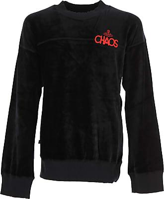 Sweatshirt for Men, Black, Cotton, 2017, M Vivienne Westwood