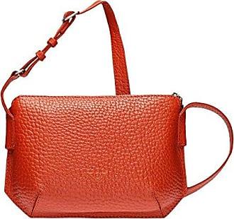 VOi Leder Schultertasche Umhängetasche Handtasche elegante Ledertasche 21846 Crossover Bag Kiwi Grün Voi