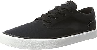 Volcom Draw Lo Shoe Schwarz Sneaker, Sneakers Basses Homme, Noir (Black Grey), 10.5 UK