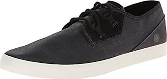 Volcom Mens Delphi Fashion Sneaker Black Destructo 8 M US
