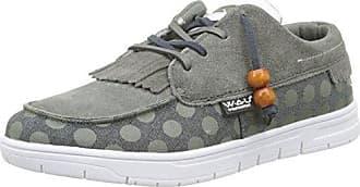 WAU Tijuana - Zapatillas Mujer, Color Gris, Talla 38