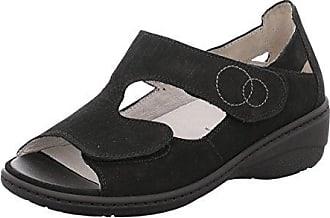Damen Sandaletten Kiana 642802191/001 001 Schwarz 367031 Waldläufer