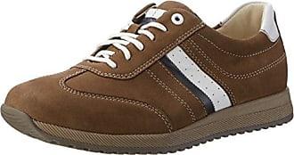 Waldläufer Haslo - Zapatos de Cordones de Piel Para Hombre, Color Azul, Talla 44 EU/9.5 UK