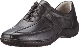 Waldläufer Henni Zapatos casual Mujer, Negro, 39.5 EU (6 UK)