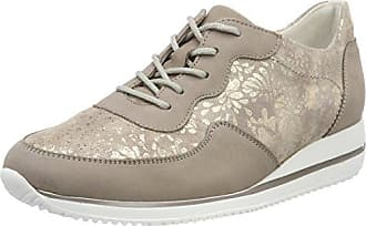 Hiroko-Soft, Zapatos de Cordones Oxford para Mujer, Braun (Denver Eclis Points Ecli Taupe Light Gold), 41 EU Waldläufer
