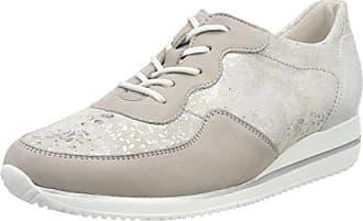 Hiroko-Soft, Zapatos de Cordones Oxford para Mujer, Braun (Denver Eclis Points Ecli Taupe Light Gold), 41 EU Waldläufer