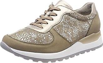 Henni, Zapatos de Cordones Derby para Mujer, Azul (Denver Glitter Jeans Silber 206), 40 EU Waldläufer