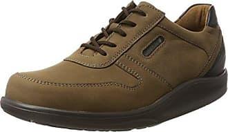 Waldläufer Herwig 478002 Ama174 001 - Zapatos de cordones de cuero para hombre, color negro, talla 42