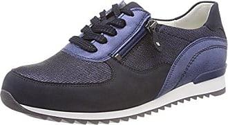 Hurly - Zapatos Planos con Cordones Mujer, Color Azul, Talla 36.5 EU Waldläufer