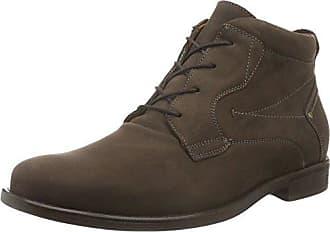 Hopkin, Zapatos de Cordones Oxford para Hombre, Marrón (Crazy-Horse Palmer Tabak Schwarz 838), 44 EU Waldläufer