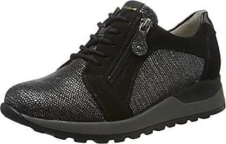 Crw17 Derbyzip, Zapatos de Cordones Derby para Mujer, Negro (Noir), 40 EU Pimkie