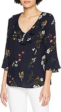 Wallis Stripe Wrap, Blusa para Mujer, Negro (Navy 024), 40
