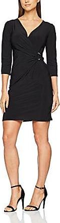 Wallis Ring Jersey Dress, Vestido para Mujer, Negro, 42