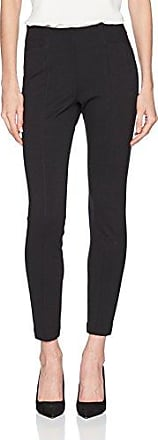 Ponte, Pantalon Femme, Noir (Black 001), 16W x 34LWallis