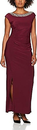 wallis Bling Ruched, Robe Femme, (Bordeaux), 42