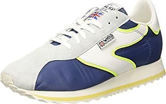 Sport Style, Zapatillas de Baloncesto para Hombre, Multicolor (Navy/Royal Blue/Fluo Nvy/Ryl Bl/FL), 43 EU Walsh