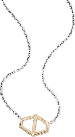 Walters Faith Keynes Small Signature Hexagon Element On Sterling Silver Chain Bracelet Sterling silver hexagon