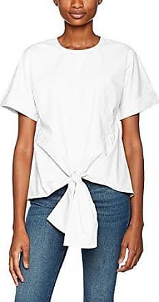 Warehouse 28547, Blusa para Mujer, Blanco, 42 (Talla del Fabricante: 14)